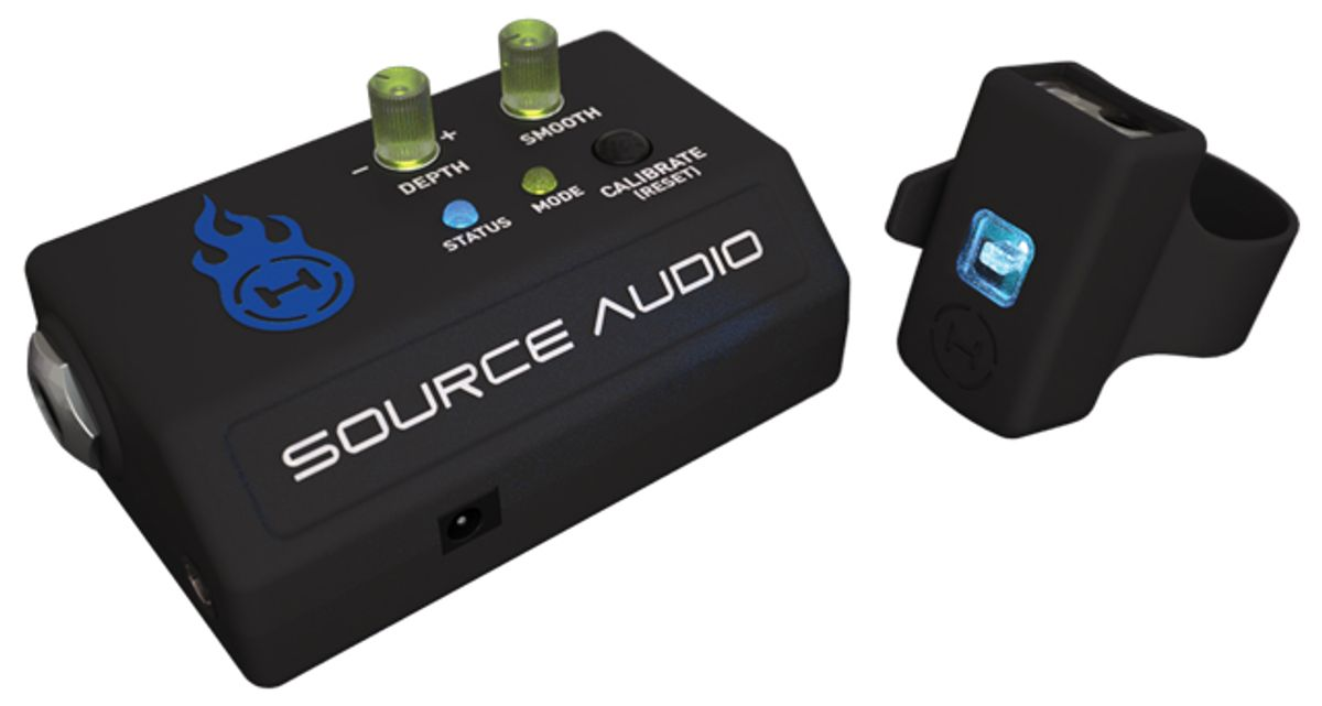 Control Your Pedals with the Wave of a Hand