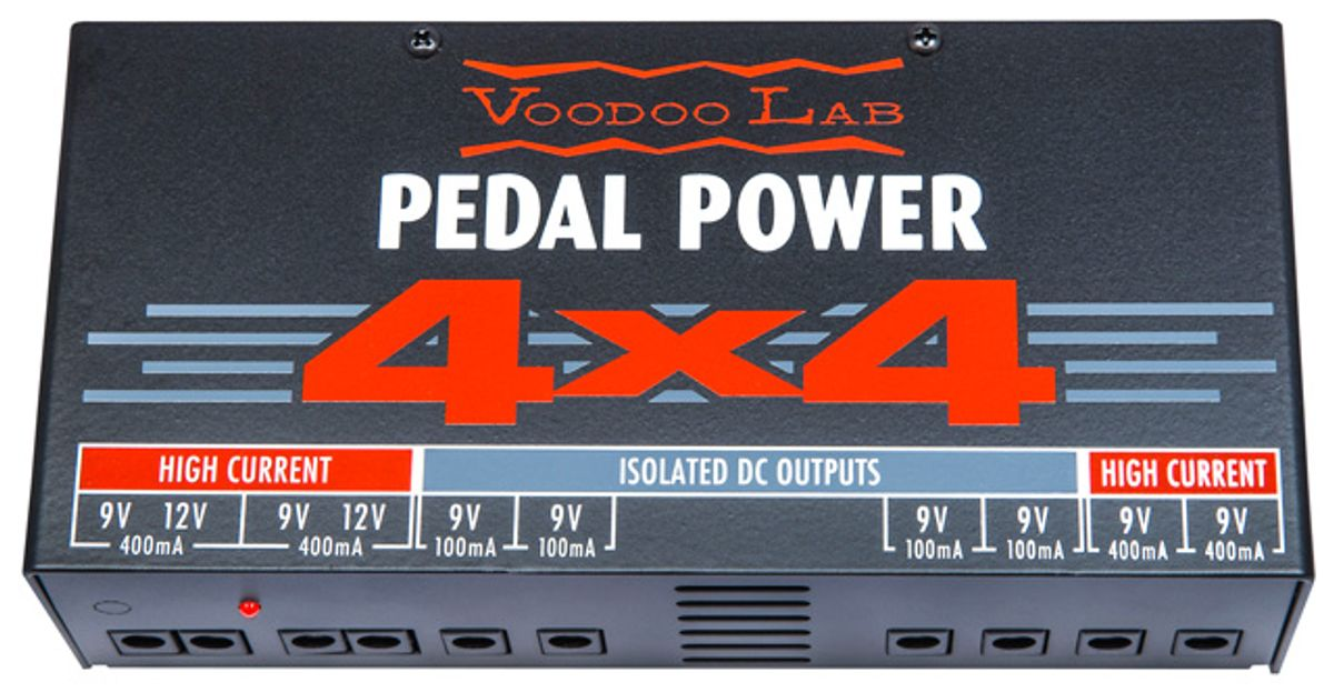 Voodoo Lab Introduces the Pedal Power 4x4