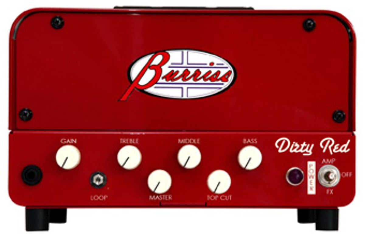 Burriss Amps Introduces Dirty Red