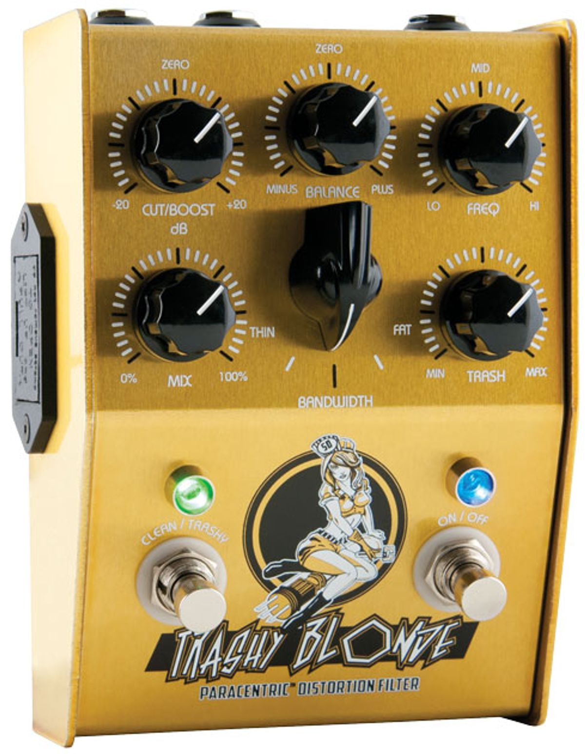 Stone Deaf Effects Trashy Blonde Paracentric Distortion Filter Review