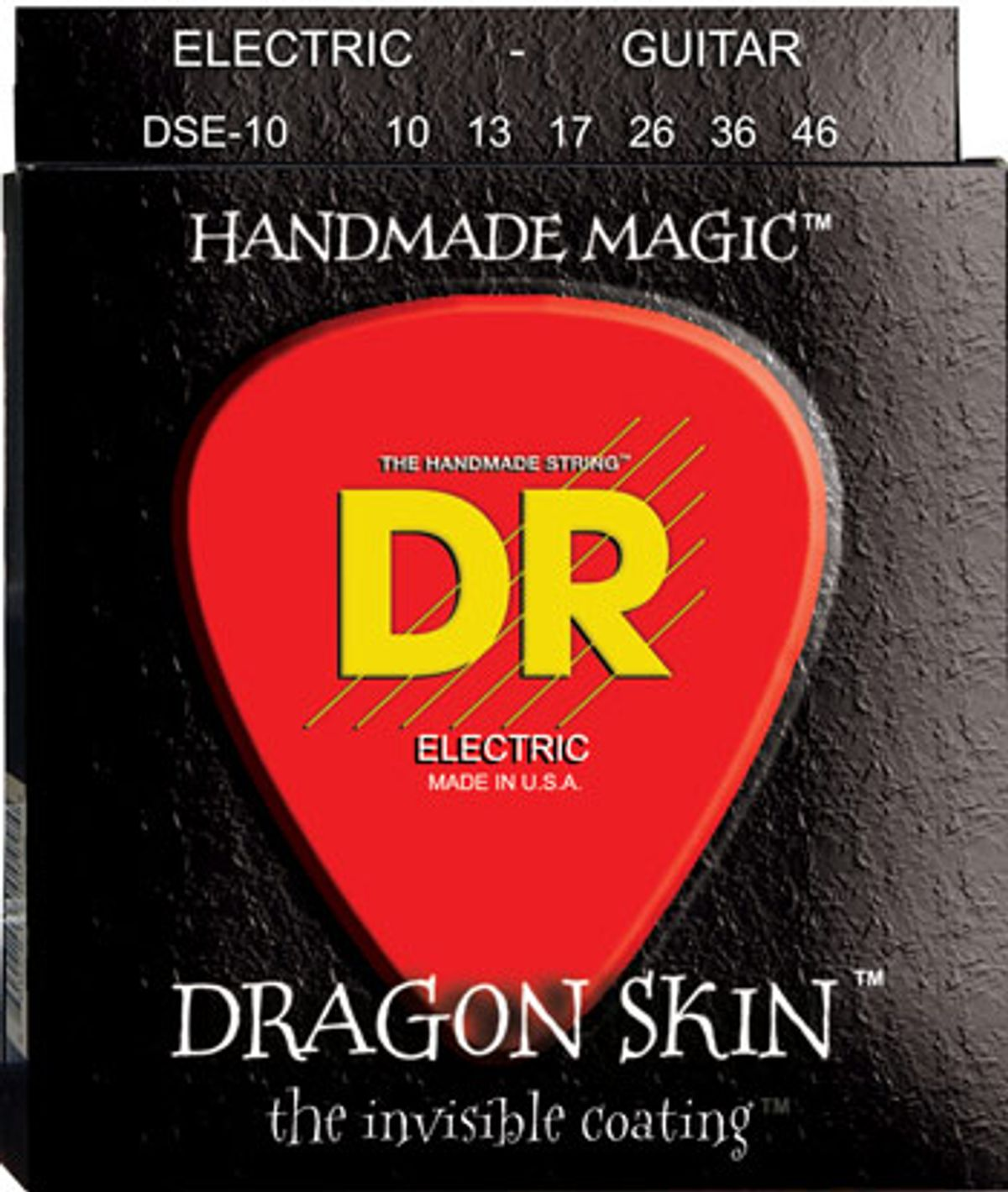 DR Strings Announce Dragon-Skin Clear Coated Electric and Bass Strings