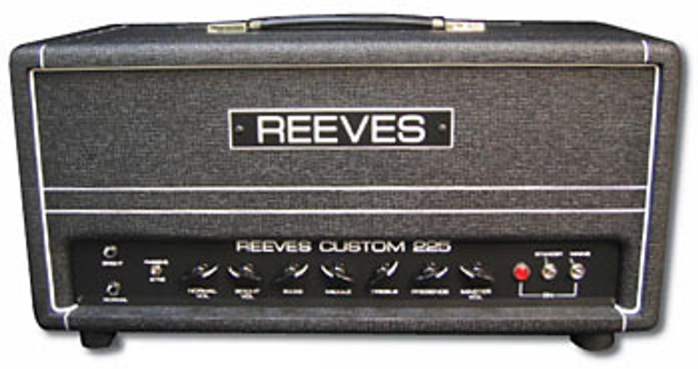 Reeves Amplification Custom 225 Bass Amp