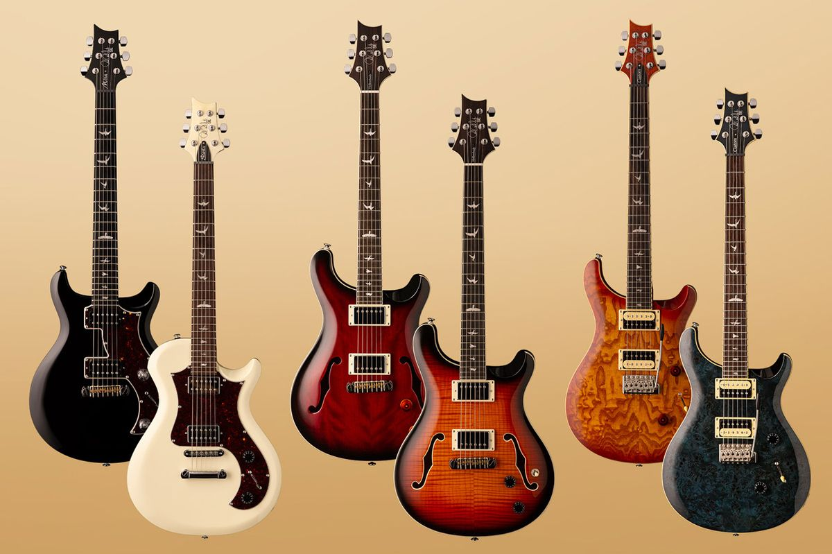 PRS Expands SE Line with New Mira, Starla, Hollowbody, and Custom 24 Models