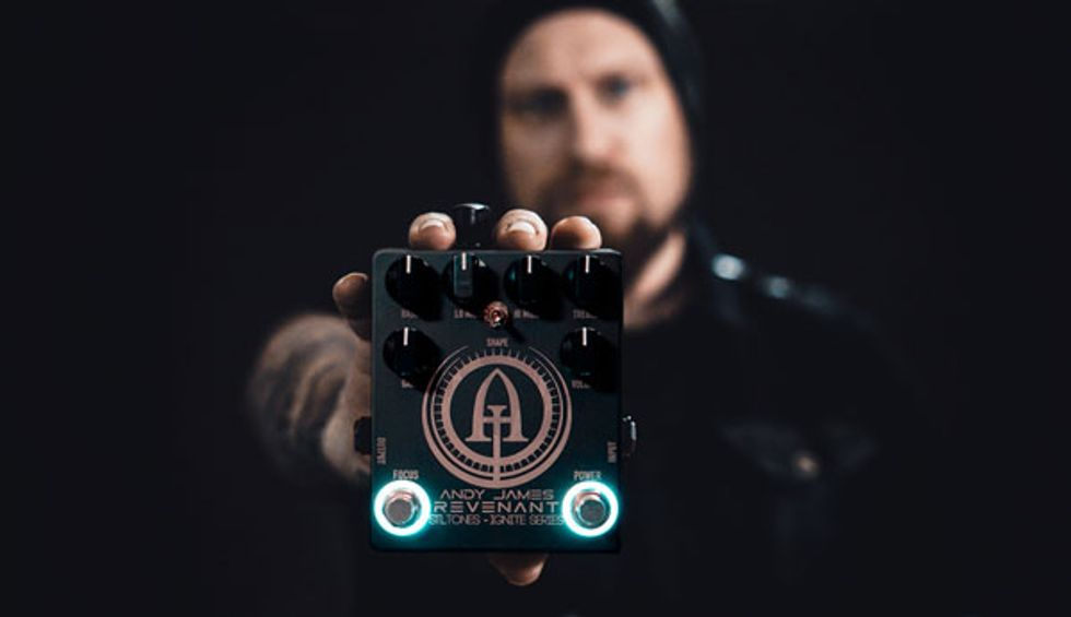 STL Tones Releases the Andy James Signature Hardware Preamp Pedal