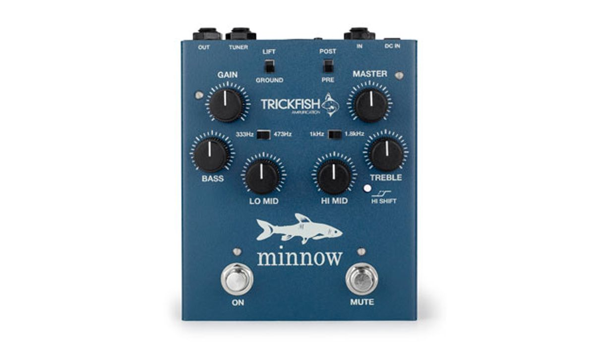 Trickfish Amplification Announces the Minnow Bass Preamp
