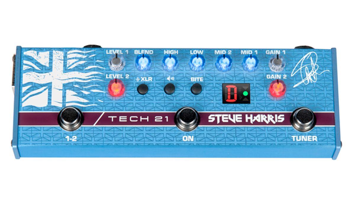 Tech 21 Unveils the Steve Harris SH1 Signature SansAmp