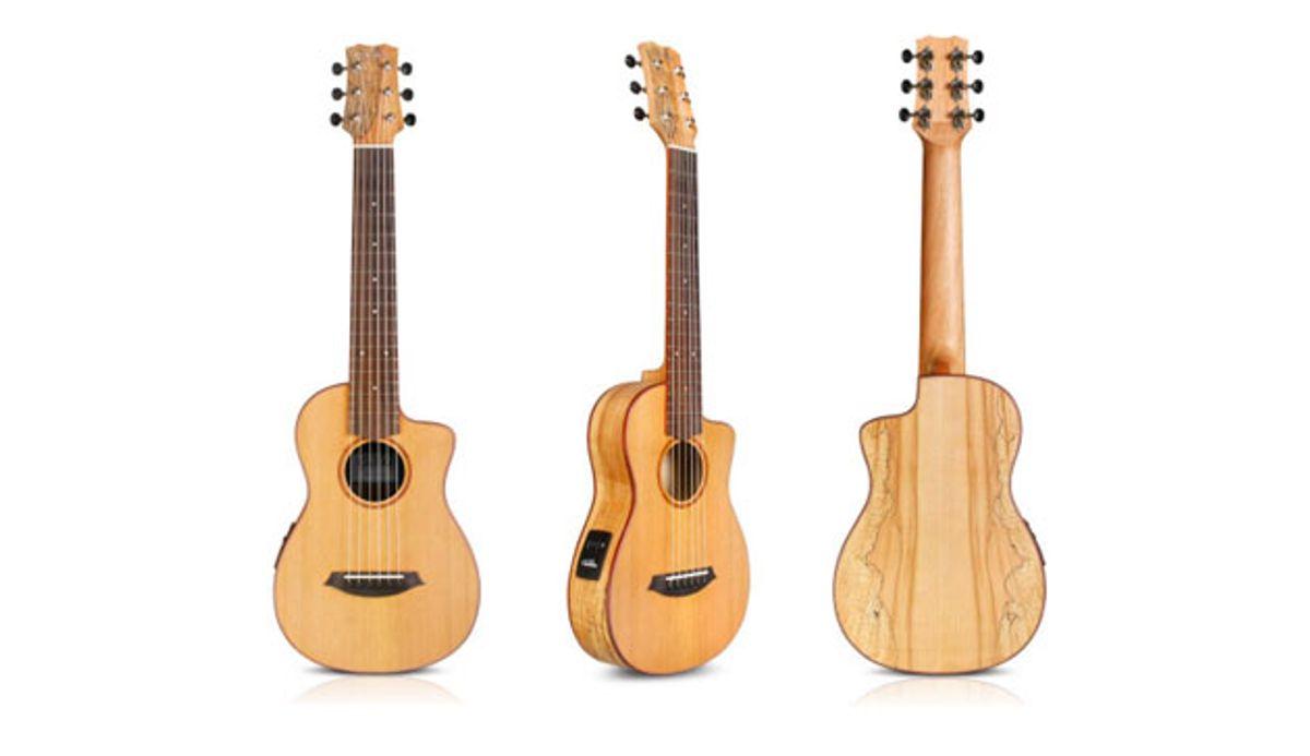 Cordoba Guitars Adds Exotic Wood Option to Mini Guitar Line