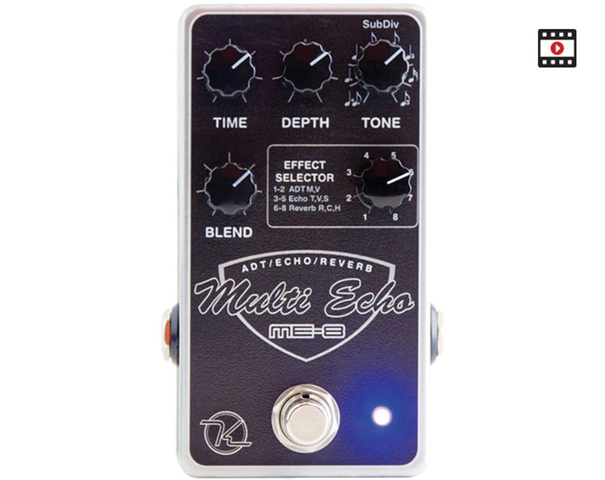 Keeley Multi Echo ME-8 Review