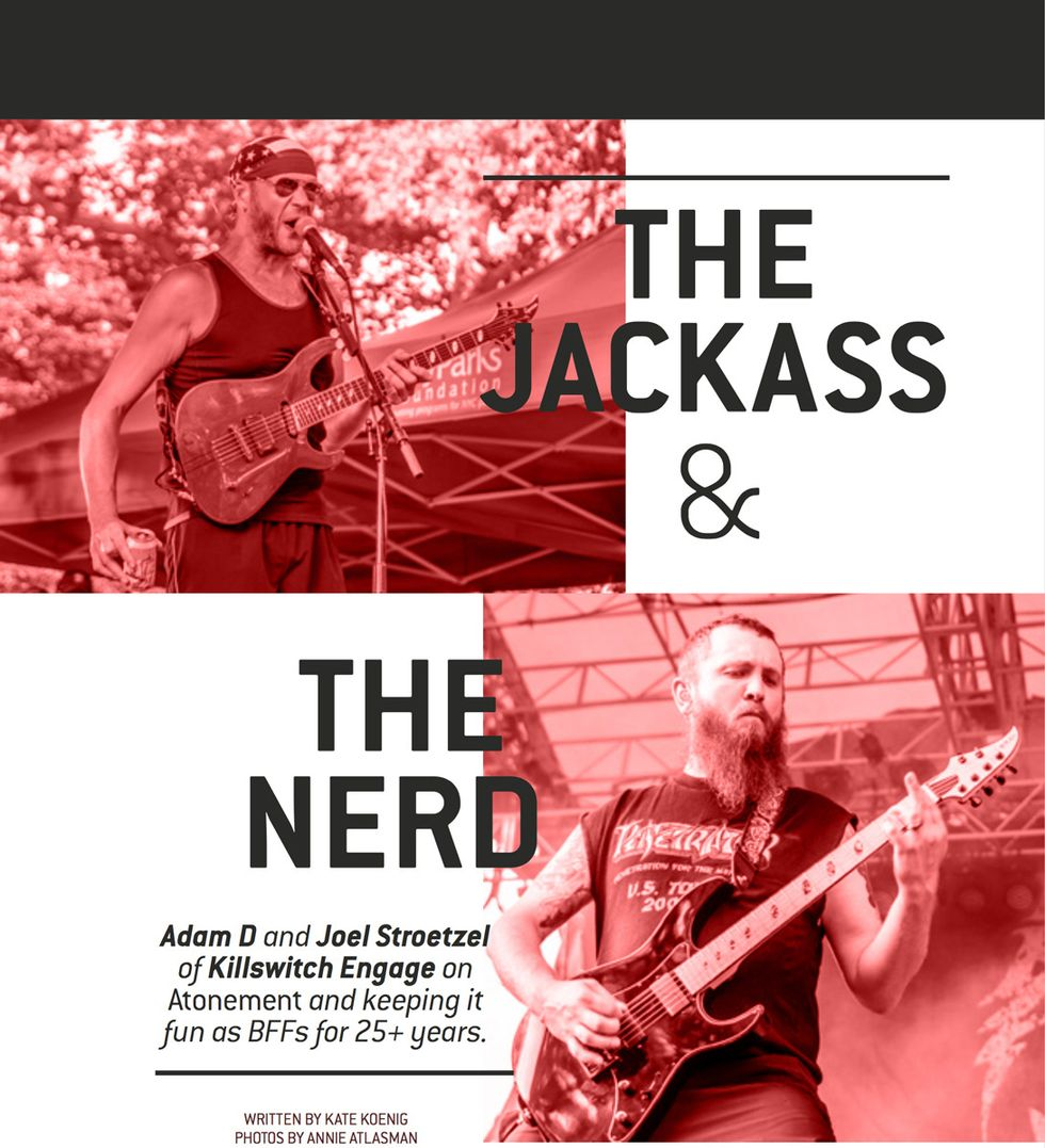 Killswitch Engage The Jackass Amp The Nerd Premier Guitar