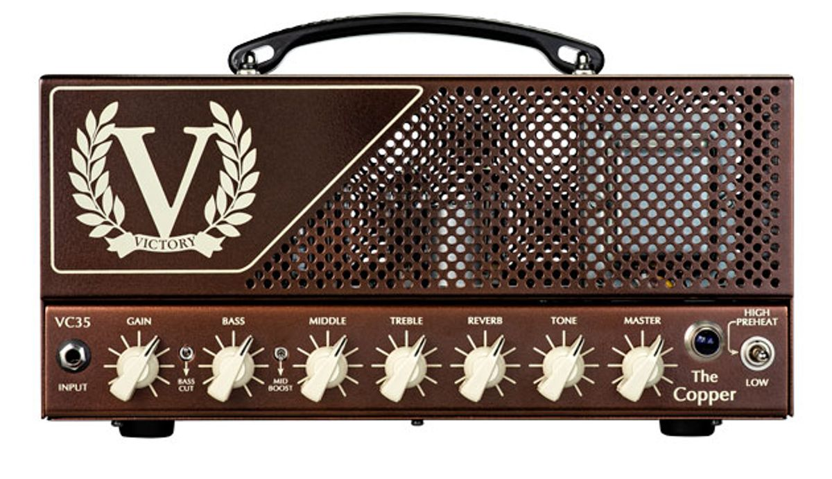 Victory Amplification Introduces the VC35 The Copper