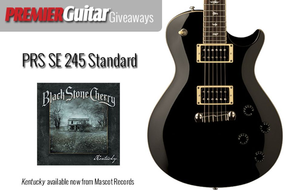 PG Giveaways: PRS SE Standard 245 Courtesy of Black Stone Cherry