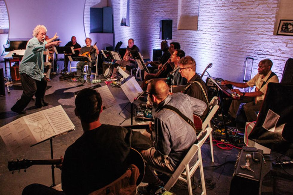 Sonic Bliss: Adam Rudolph's Guitar Orchestra