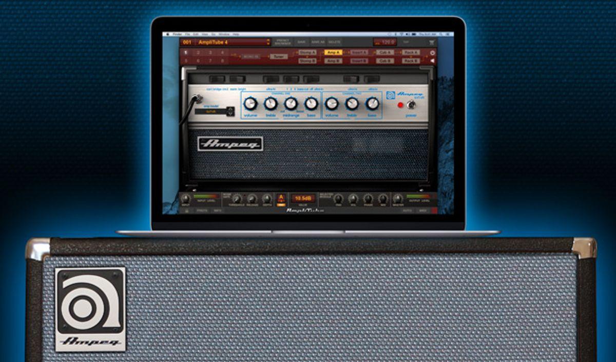 IK Multimedia and Ampeg Unveil SVX 2 for AmpliTube