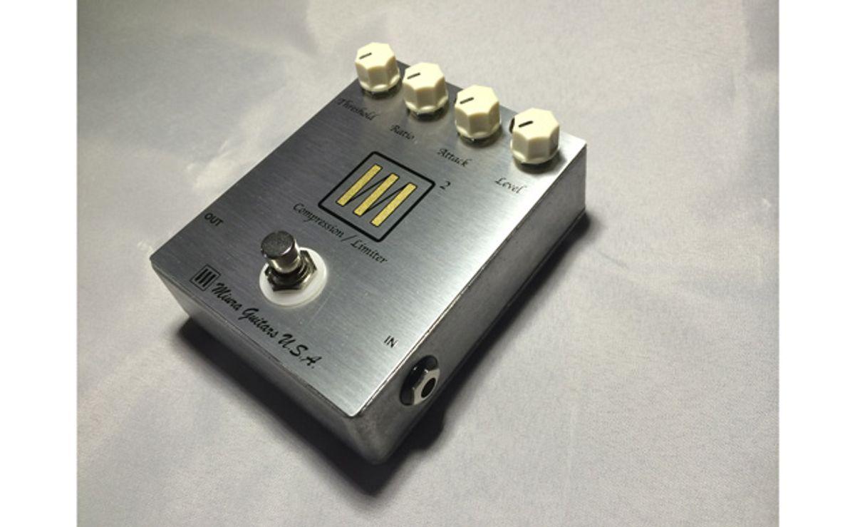 Miura Guitars Announces the M2 Compressor/Limiter