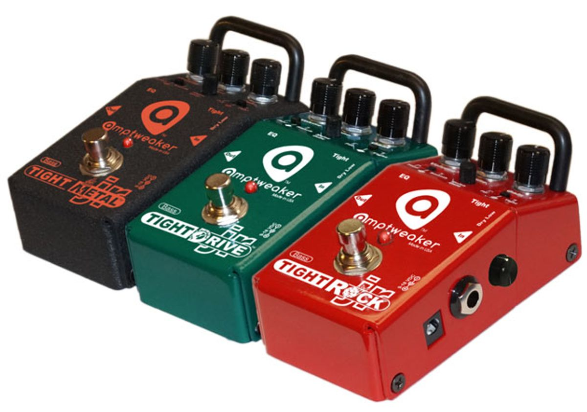 Amptweaker Introduces the Bass TightDrive Jr., Bass TightRock Jr., and Bass TightMetal Jr.