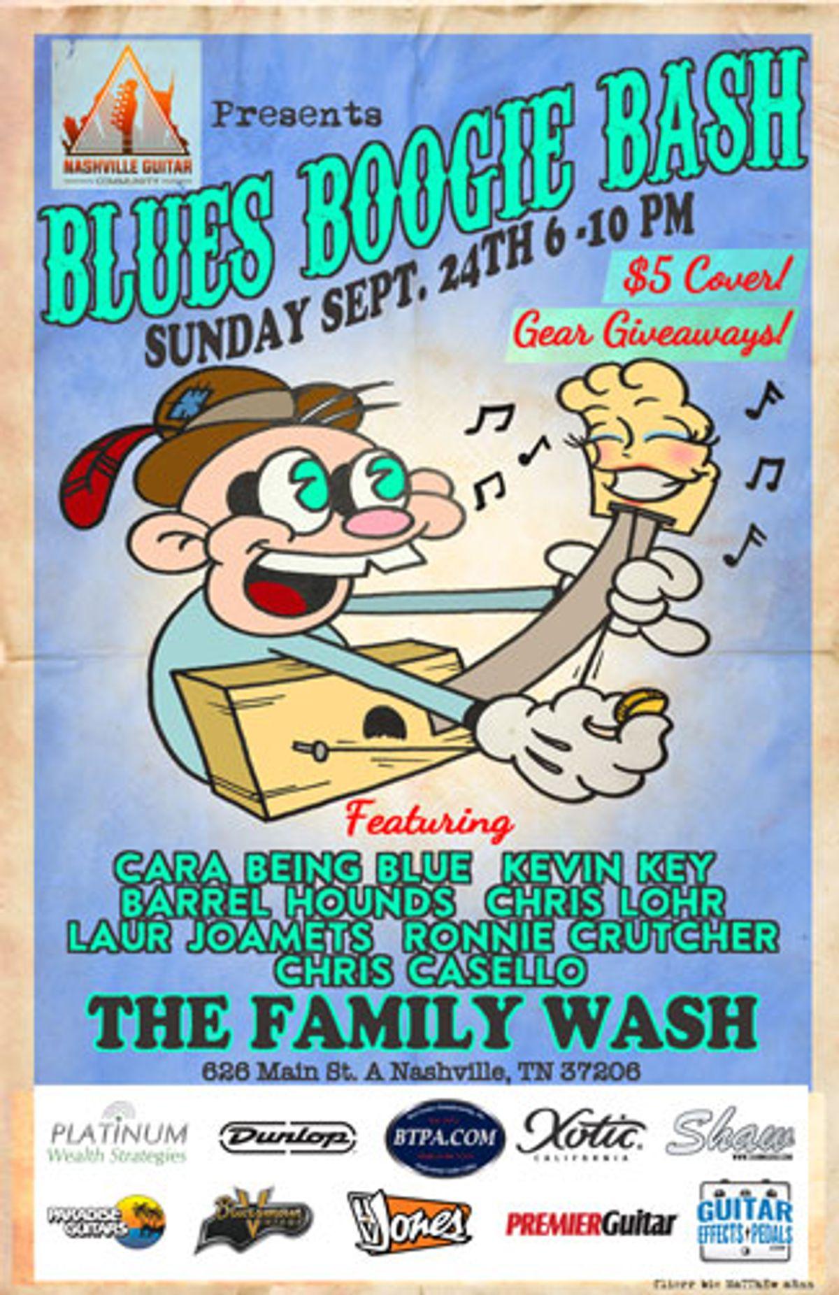 Nashville Guitar Community Presents the Blues Boogie Bash