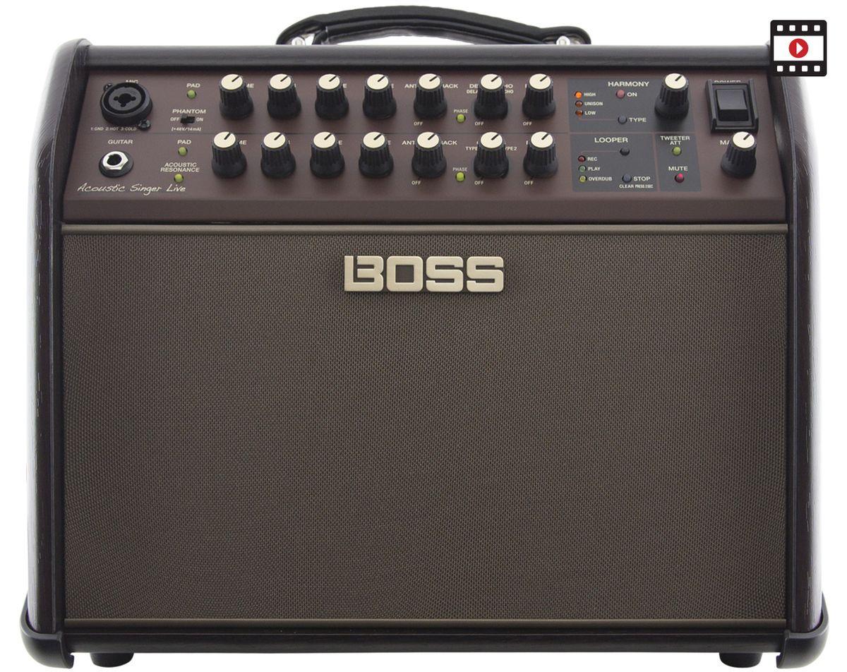 Boss Acoustic Singer Live Review