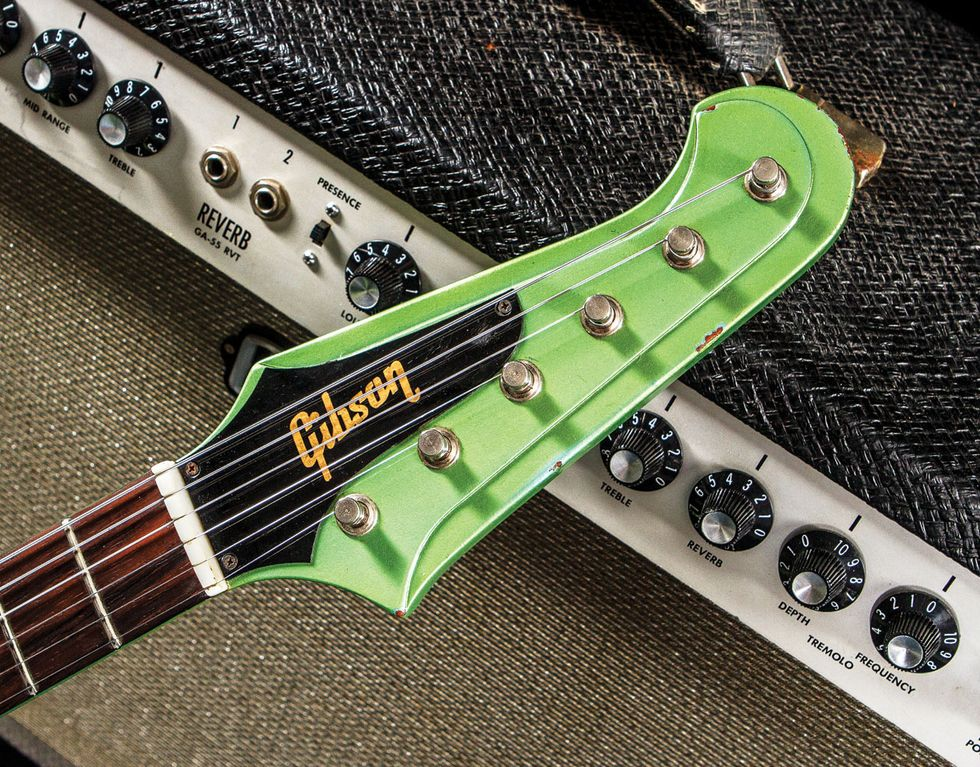 Epiphone Firebird Tuners Free Download Studio Wiring Diagram Vintage Vault Gibson I Inverness Green Premier Guitar