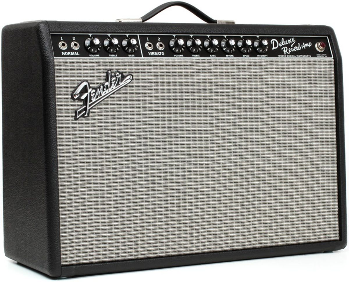 Ask Amp Man: Beefing Up a Fender Deluxe Reverb Reissue