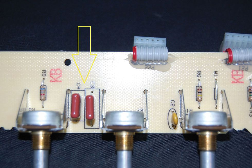 Ask Amp Man Beefing Up A Fender Deluxe Reverb Reissue Premier Guitar Iron Vault Edition Pro Circuit Board Image Photo 3