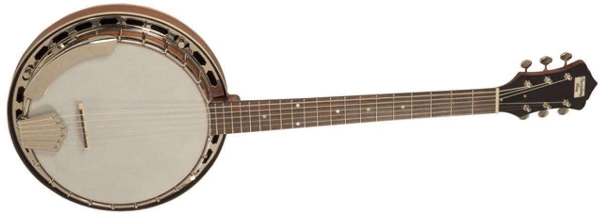 Recording King Introduces the 6-String Madison Banjo