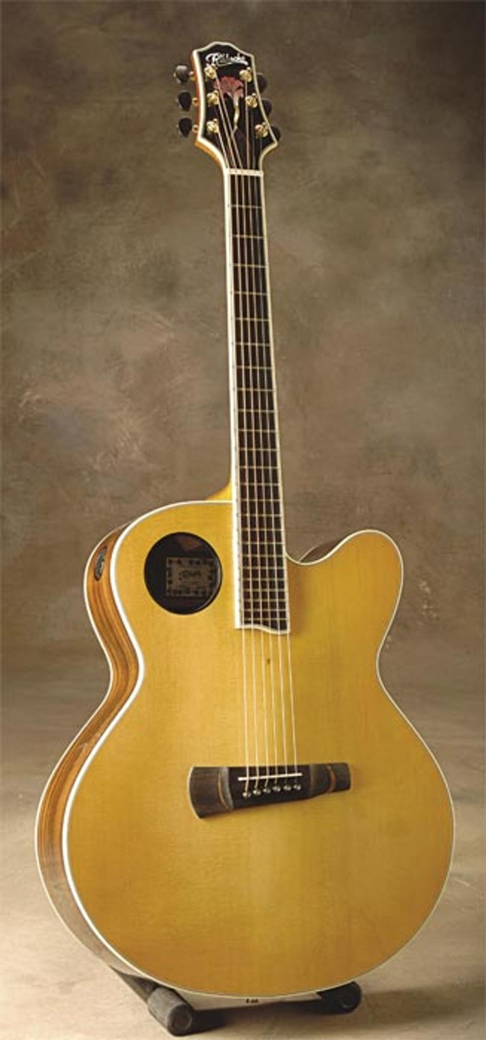 Halfling Pin Bridge Acoustic Guitar Review