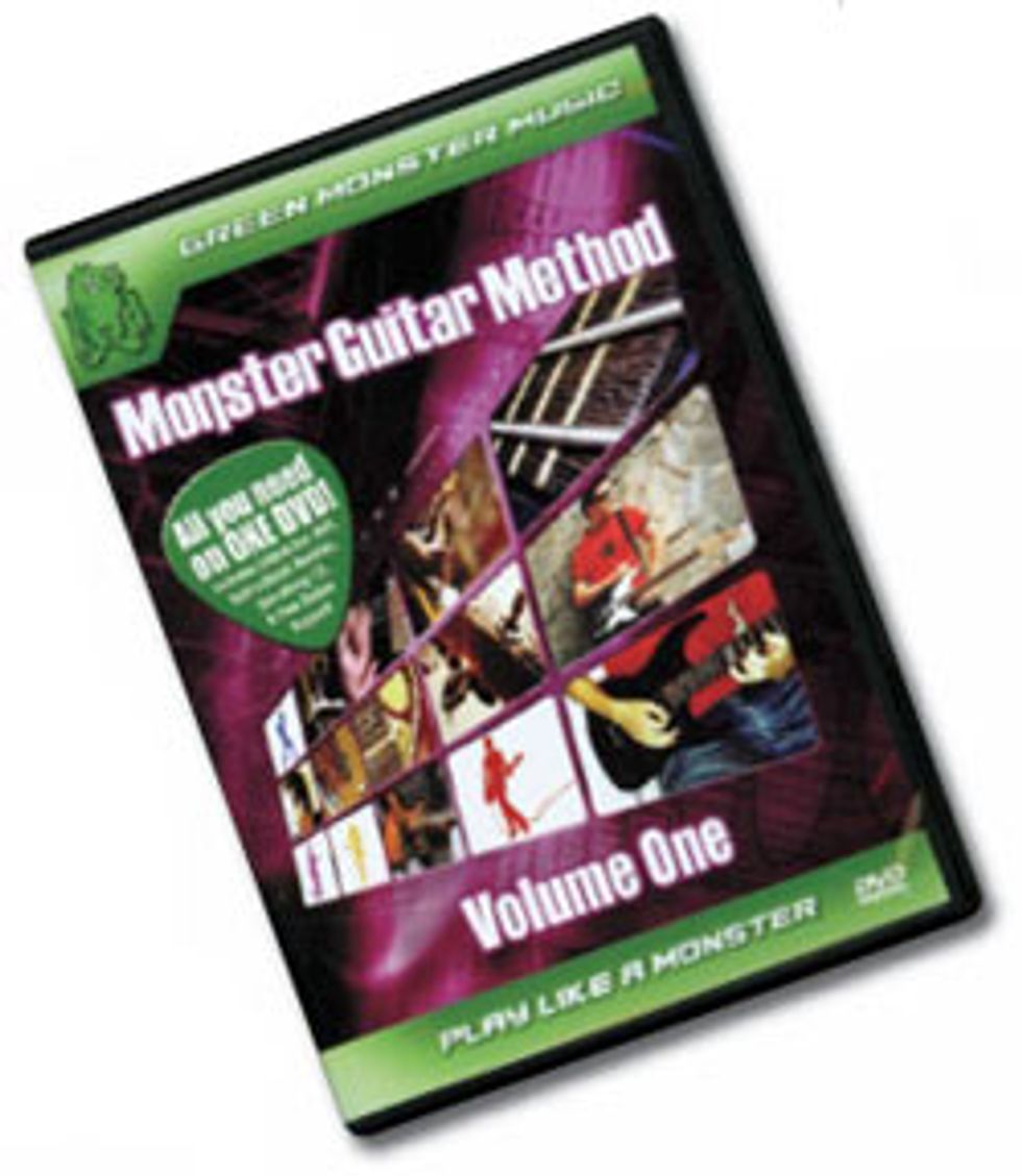 Monster Guitar Method Vol. 1 – DVD/CD