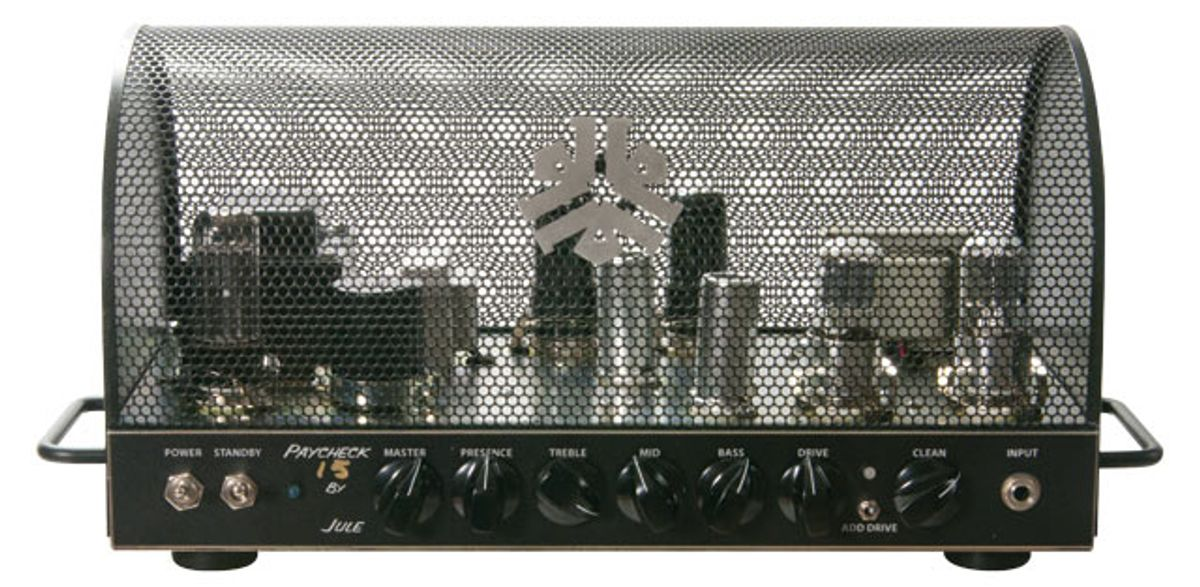 Jule Amps Paycheck 15 Amp Head Review