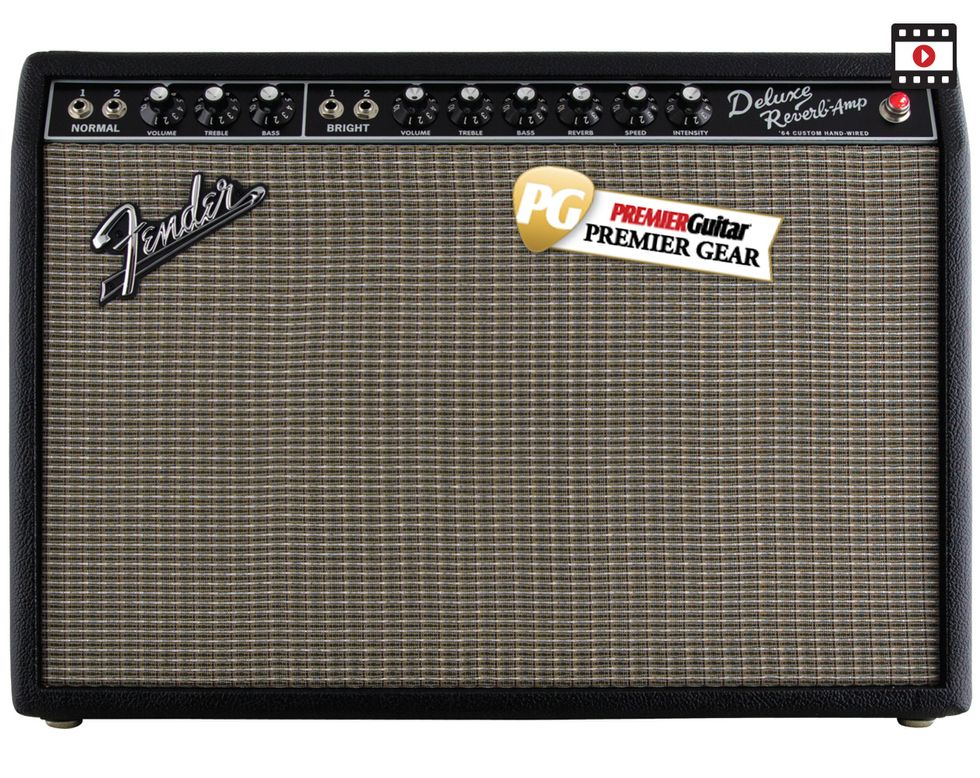 Fender 64 Custom Deluxe Reverb Review