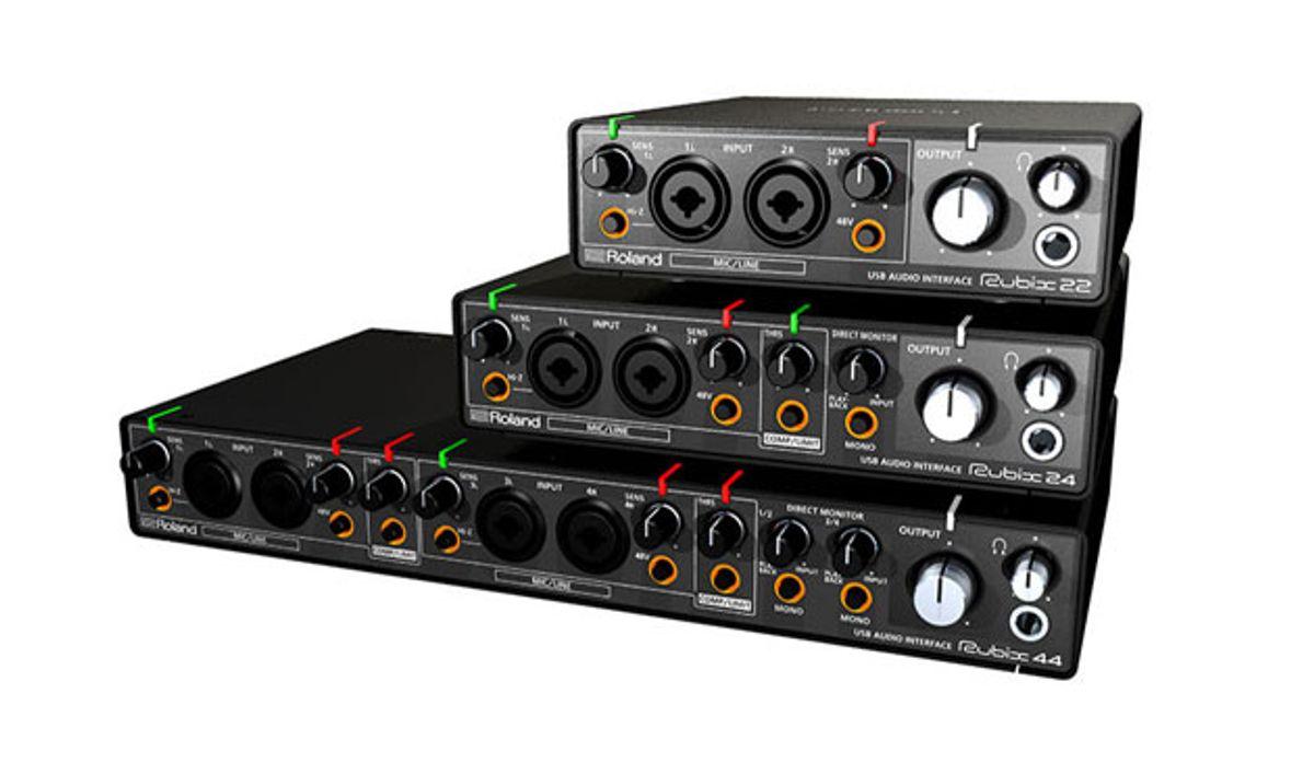 Roland Unveils Line of Rubix Audio Interfaces