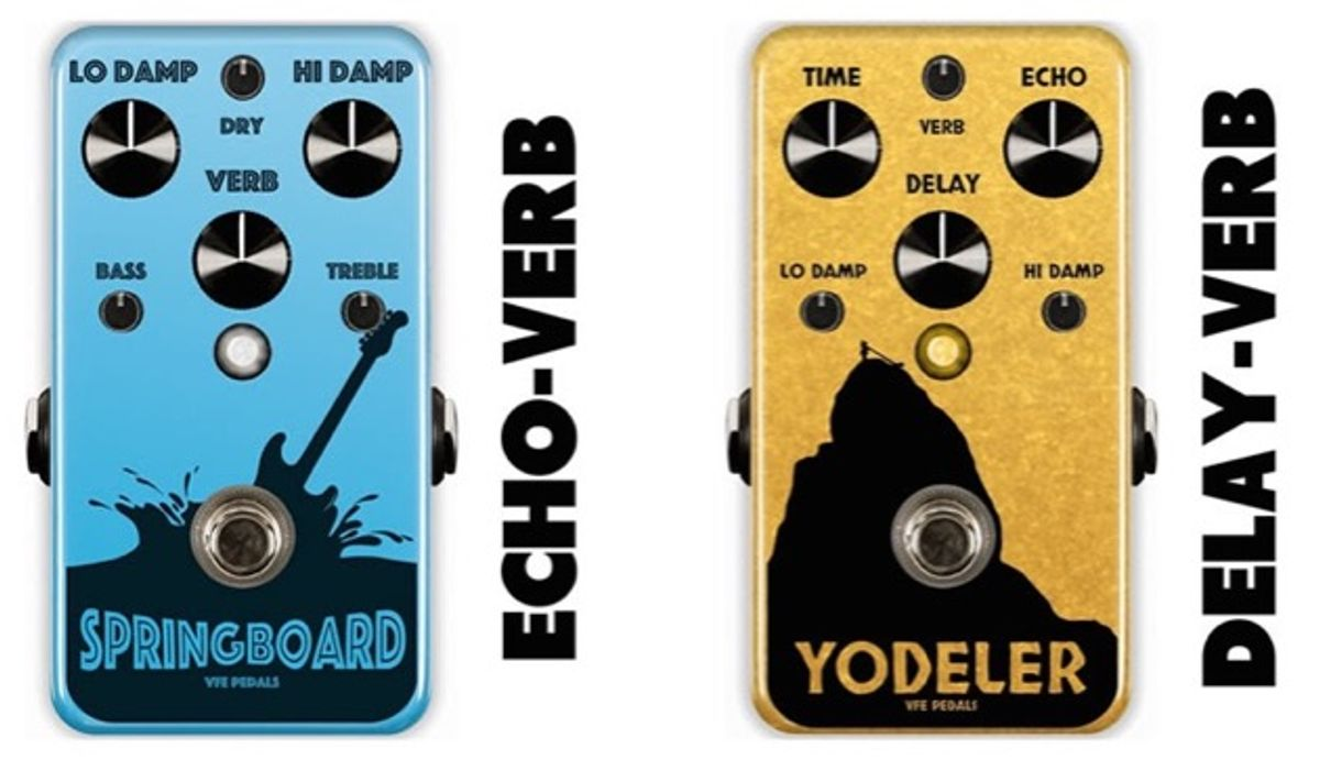 VFE Pedals Announces the Springboard and the Yodeler