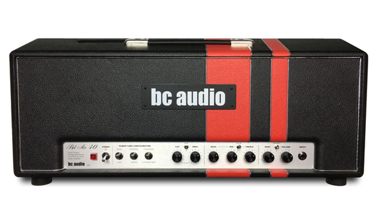 BC Audio Launches the Bel Air 40 Guitar Amp