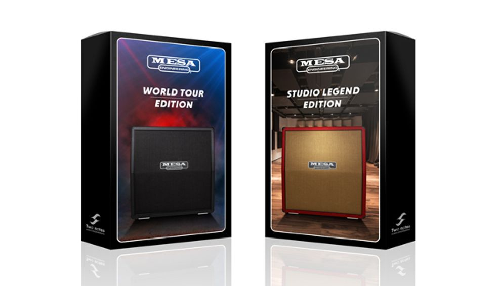 Mesa/Boogie and Two Notes Audio Engineering Launch IR Cab