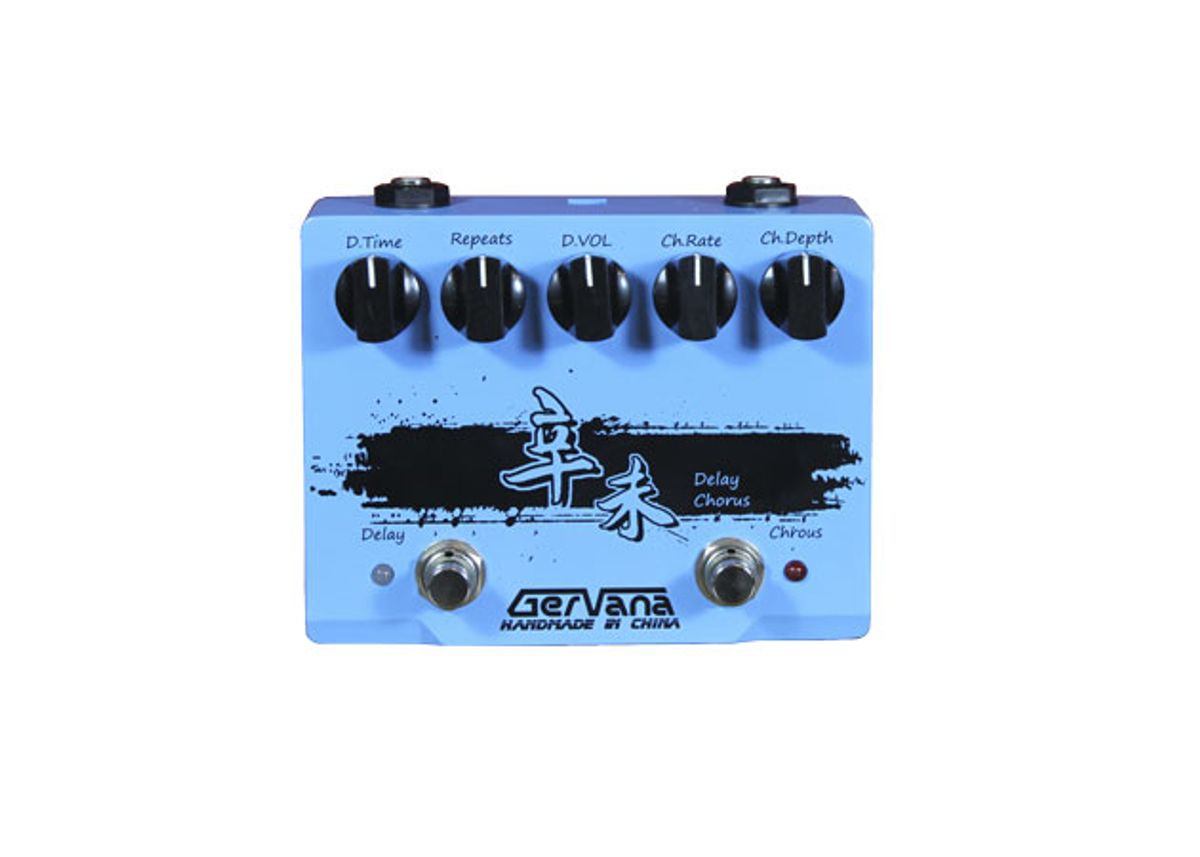 Gervana Pedals Unveils the Xin Wei Chorus and Delay