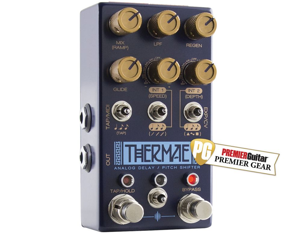 Chase Bliss Audio Thermae Review Premier Guitar Turn On Delay Circuit That Resets Nice And Quick Youtube Ratings