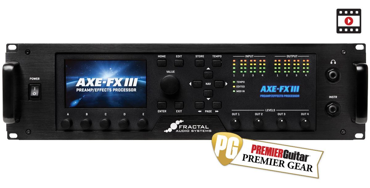 Fractal Audio Systems Axe-Fx III Review