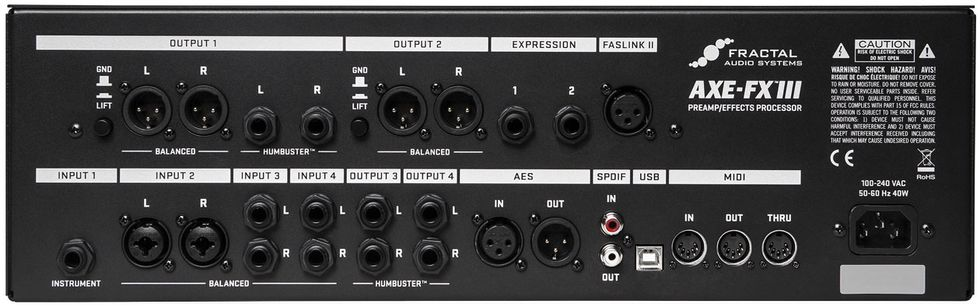Fractal Audio Systems Axe-Fx III Review | Premier Guitar