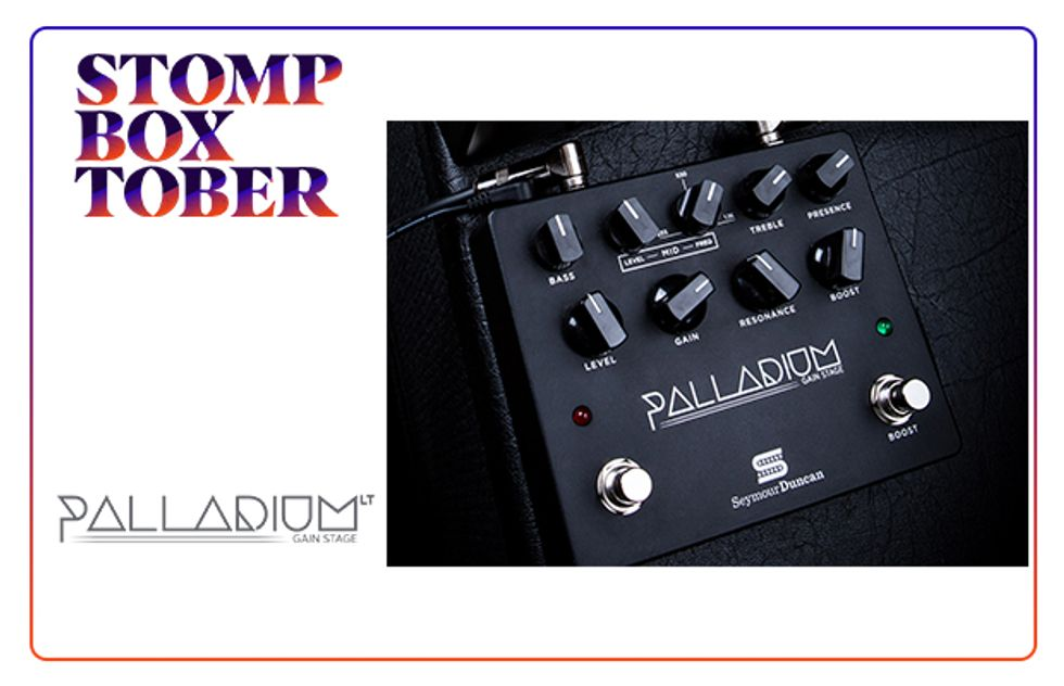 Stompboxtober 2018 Day #17: Seymour Duncan