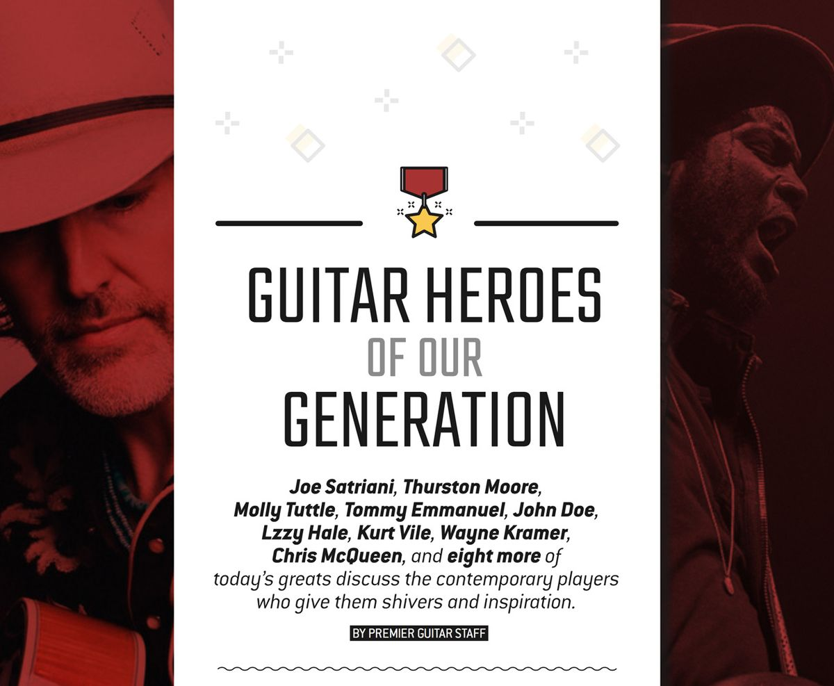 17 Guitar & Bass Heroes Hail Their Heroes