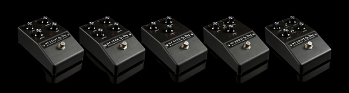 Moog Introduces Minifooger Analog Effects Pedals