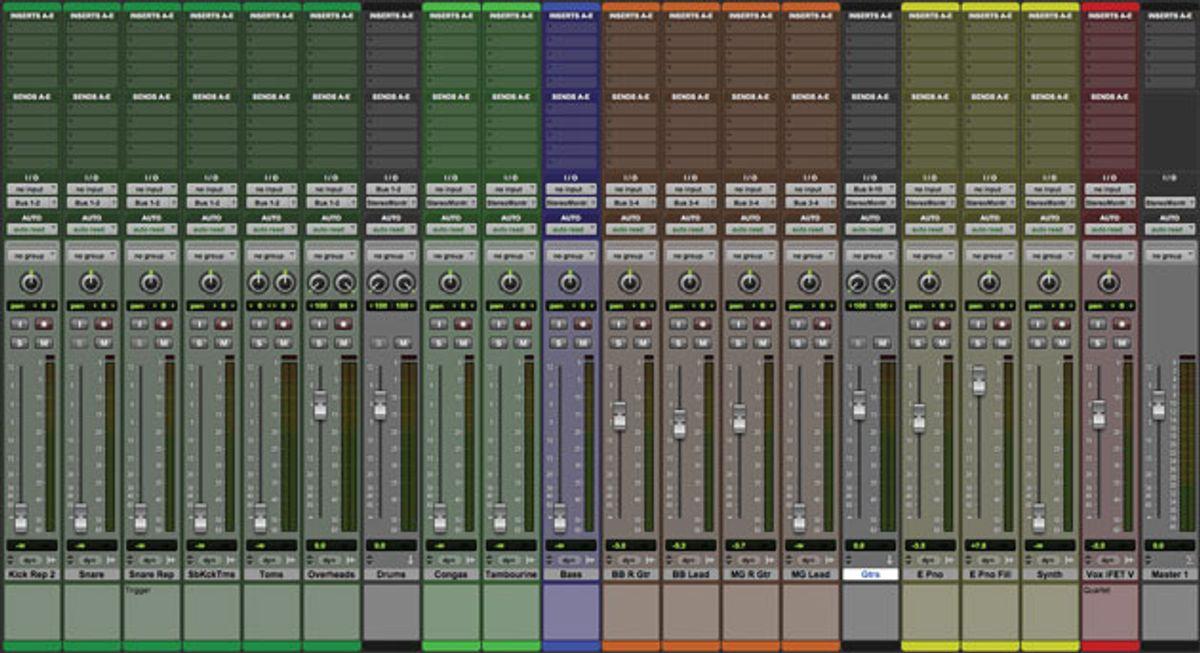 Guitar Tracks: Building a Mix