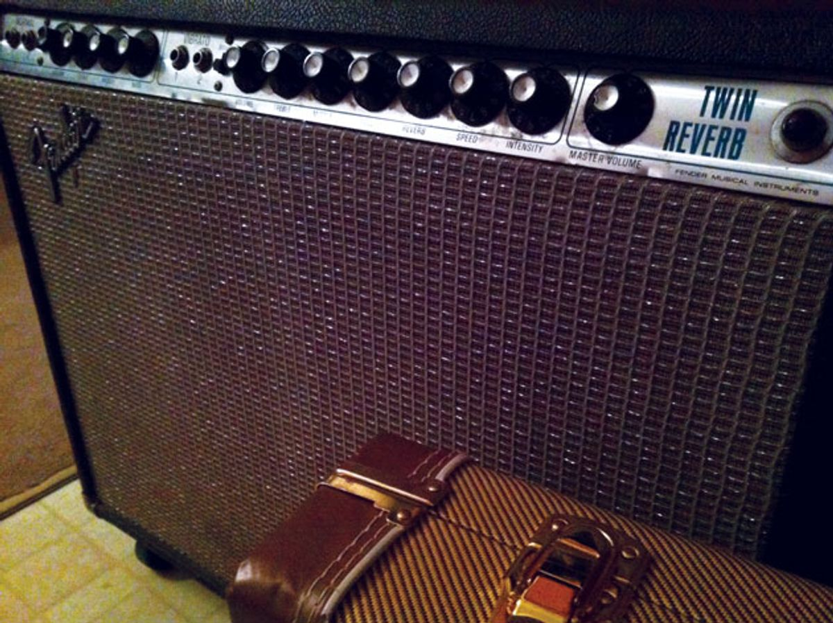 Ask Amp Man: The Early-'70s Silverface Fender Twin Reverb: Dud or Dynamo?