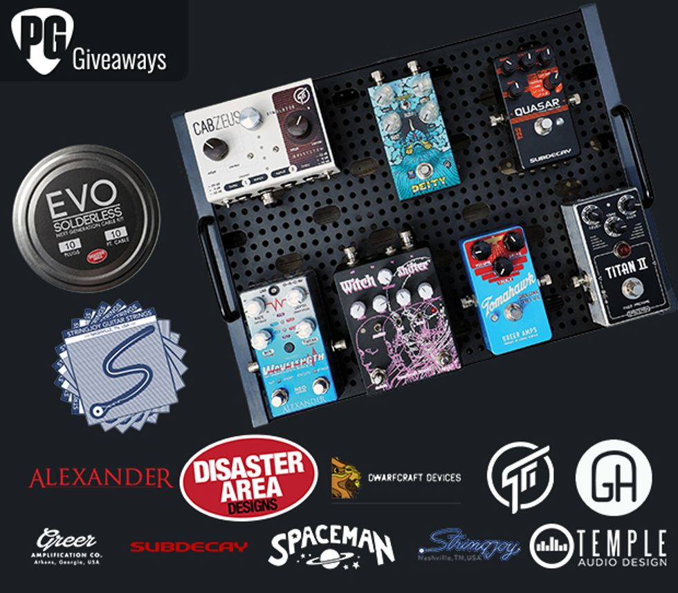 PG Giveaways: MAS Distro Loaded Pedalboard