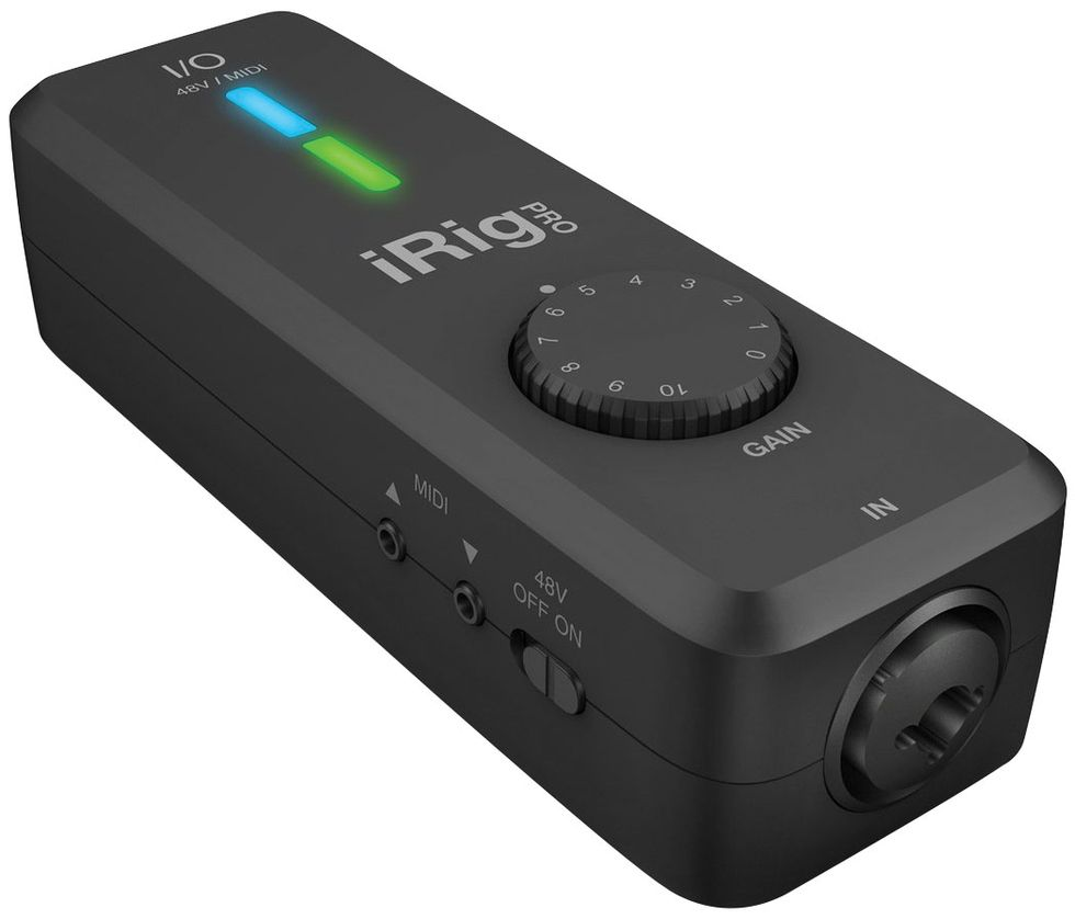 Ik Multimedia Irig Pro: Tools For The Task: Recording Interfaces