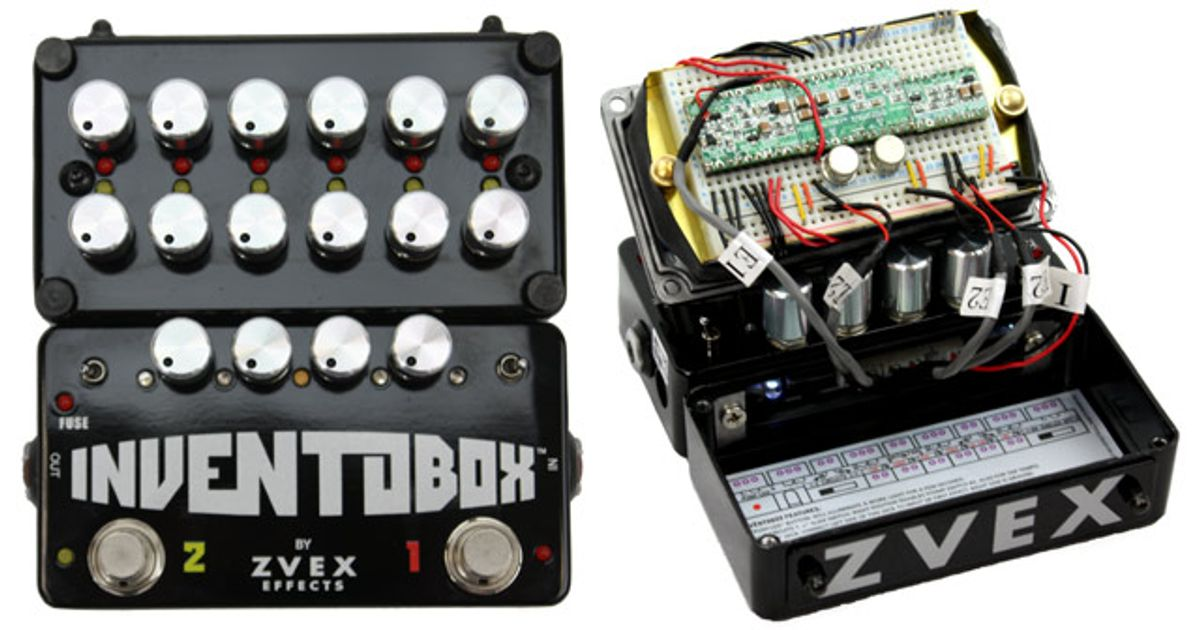 Z. Vex Inventobox Pedal Review