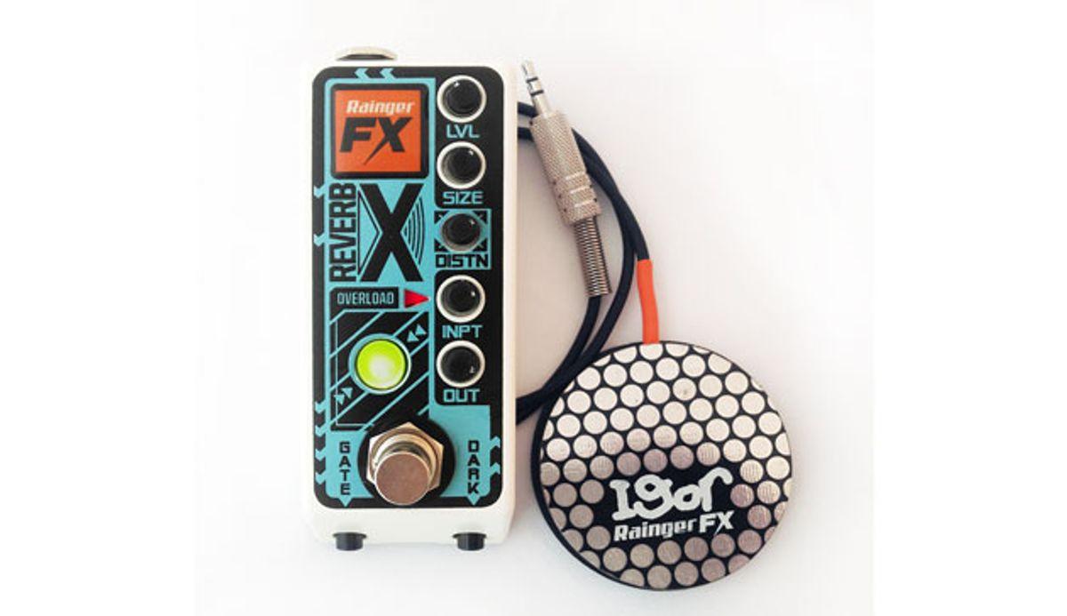 Rainger FX Introduces the Reverb-X