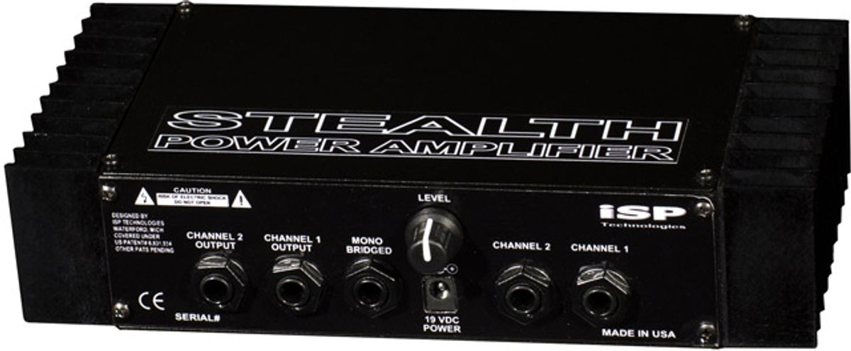 ISP Technologies Introduces the Stealth Power Amp