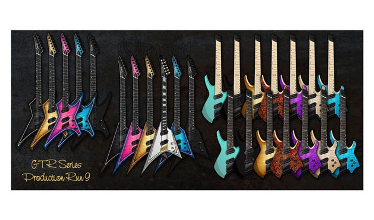 Ormsby Guitars Introduces the Metal Series and New Goliath Models