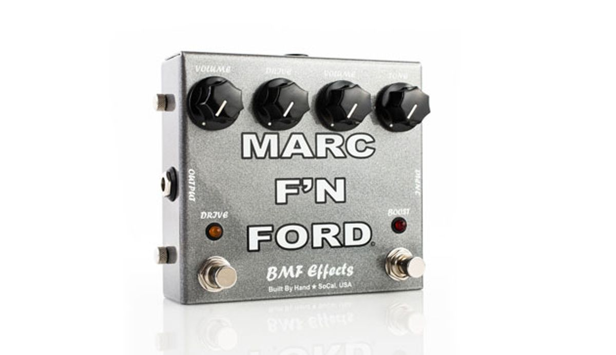 BMF Effects Releases the Marc F'N Ford OD/Boost