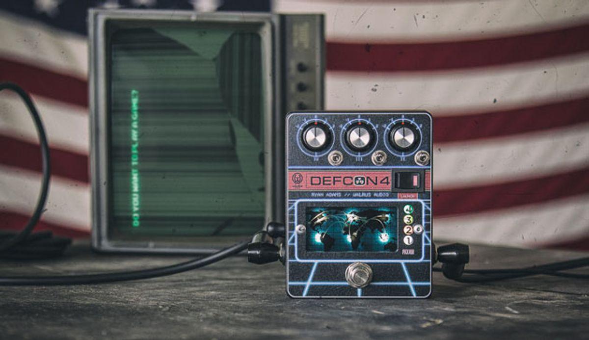Walrus Audio Unveils the DEFCON4